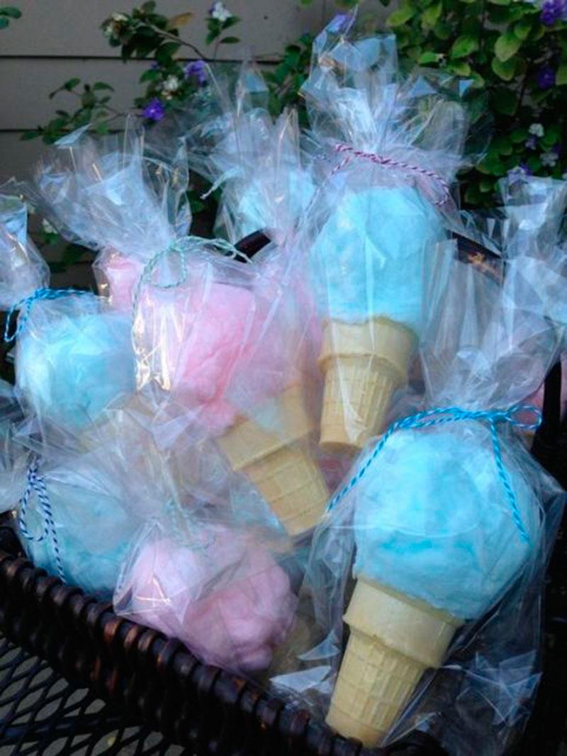 sorvete de algodão