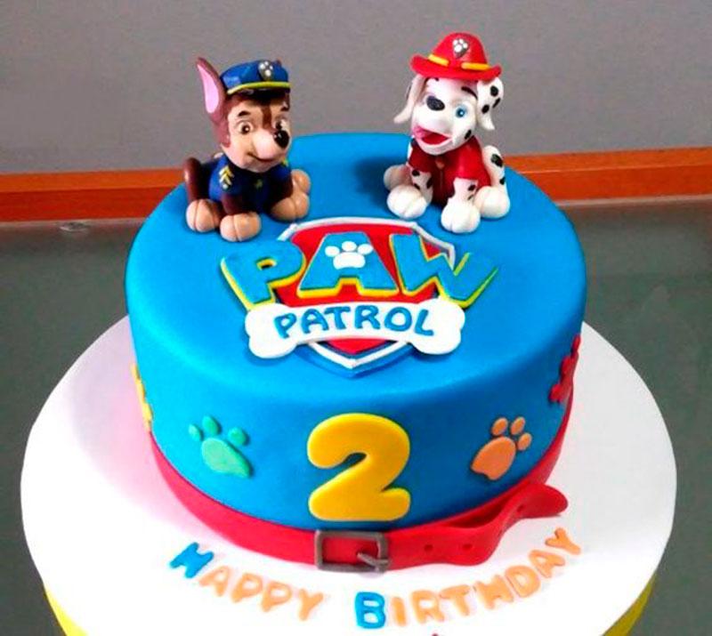 1 andar festa patrulha canina