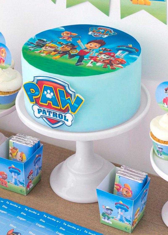 bolo de aniversário - patrulha canina