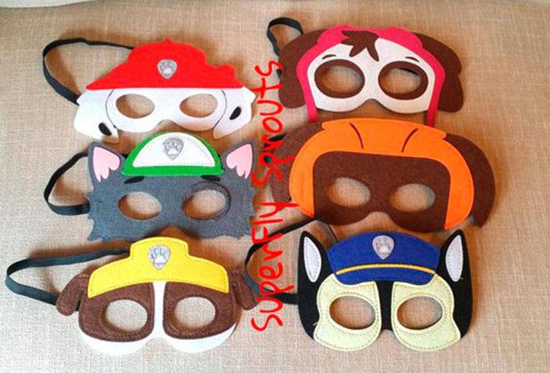 máscara patrulha canina