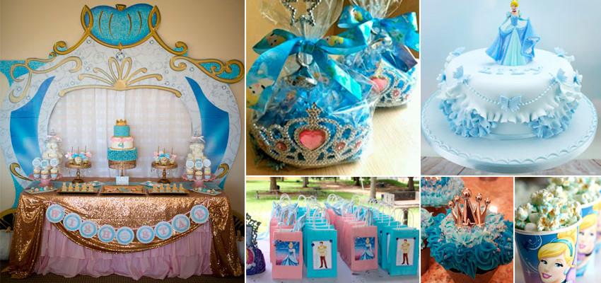 Festa Cinderela – 40 ideias para encantar a sua filha