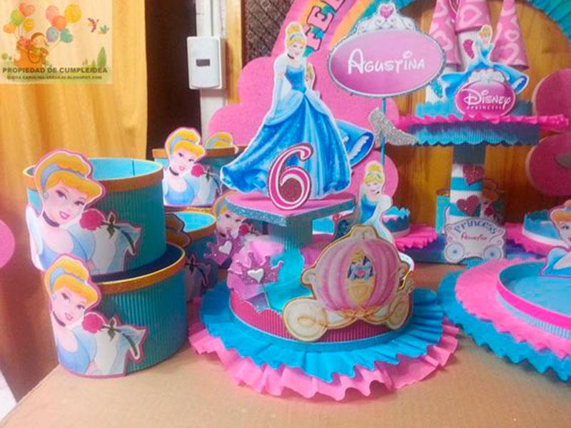 artigos de festa infantil Cinderela