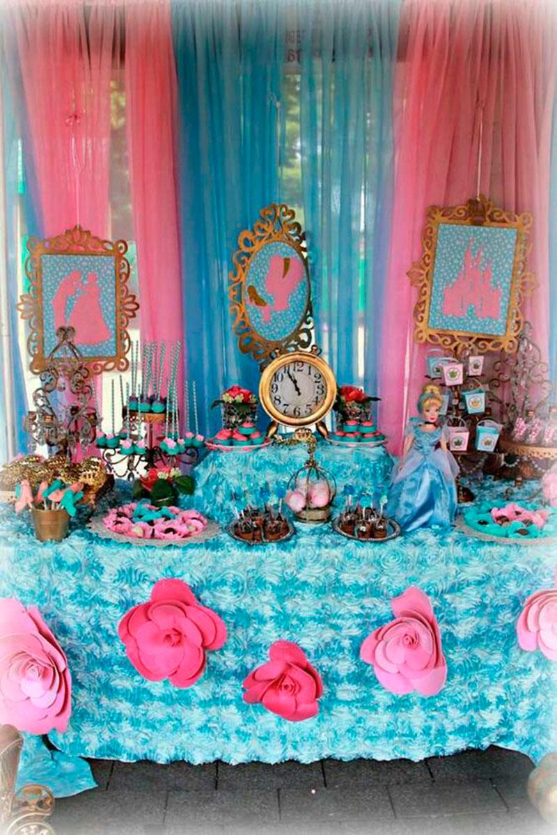 azul e rosa Cinredela