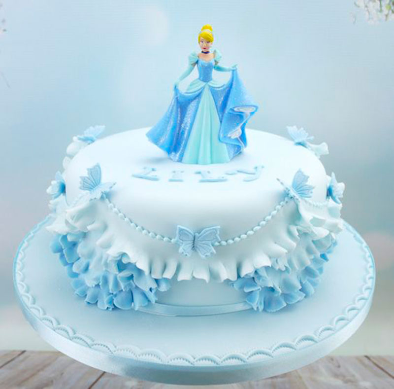 bolo de aniversario Cinderela