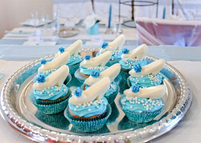 cupcake cinderela sapatinho