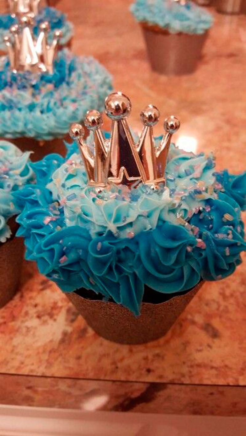 cupcake especial festa cinderela