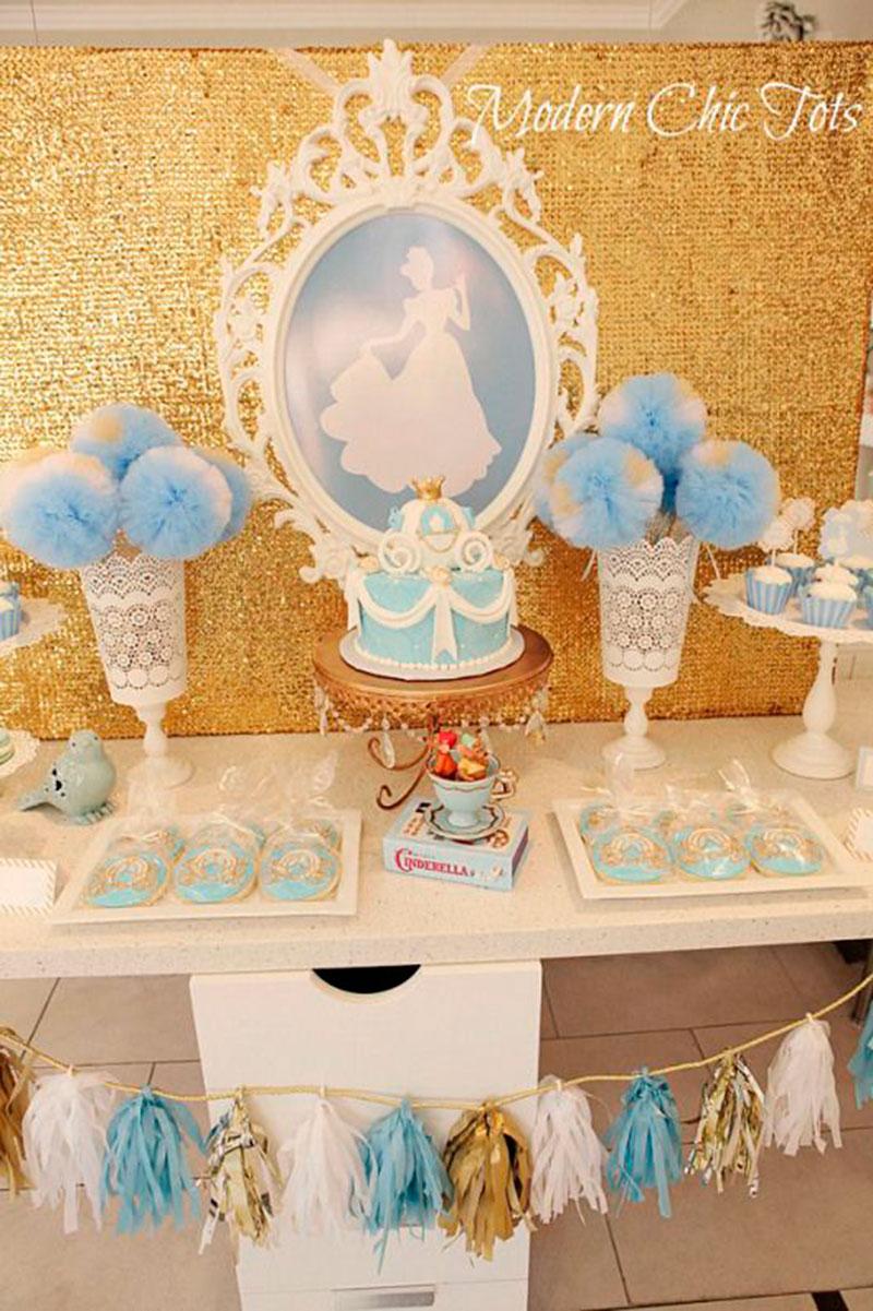 mesa festa Cinderela