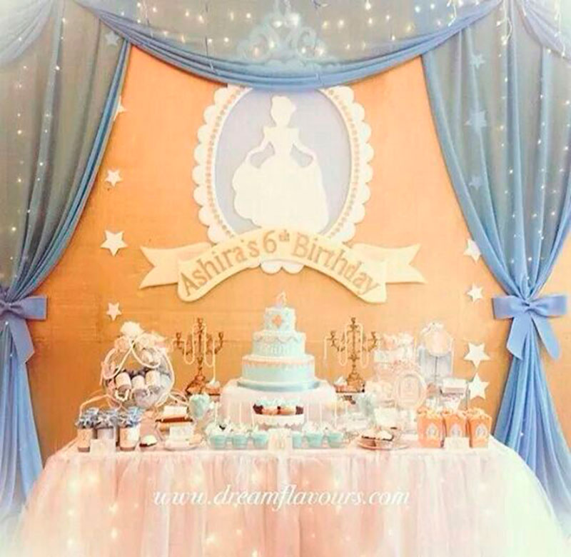 tema decoracão Cinderela