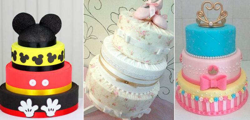 olo fake de EVA ou outros bolos fakes Compare e escolha o ideal