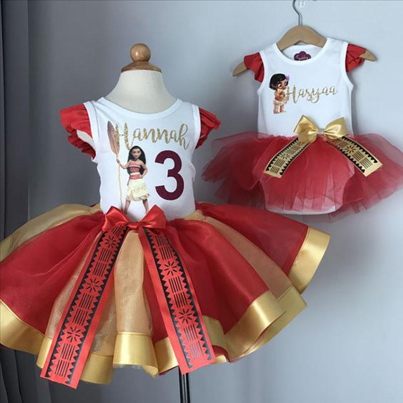 vestido moana tematico